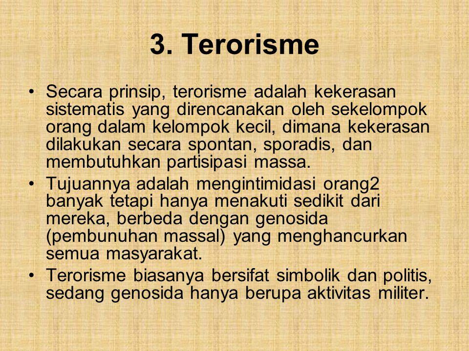3. Terorisme