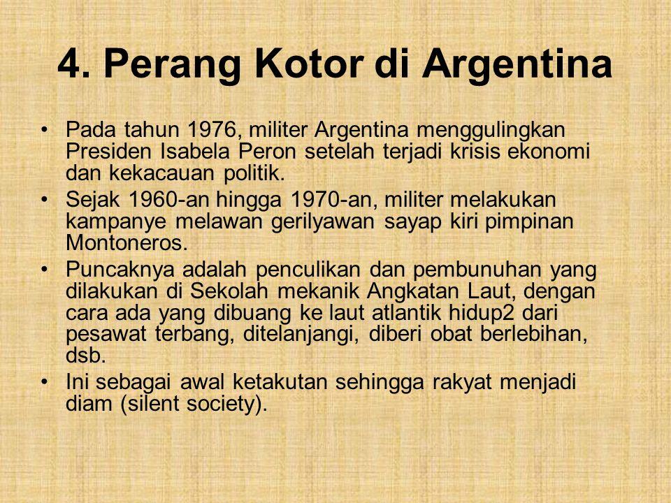 4. Perang Kotor di Argentina