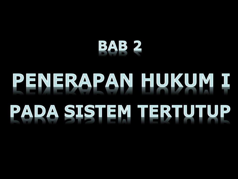 BAB 2 PENERAPAN HUKUM I PADA SISTEM TERTUTUP