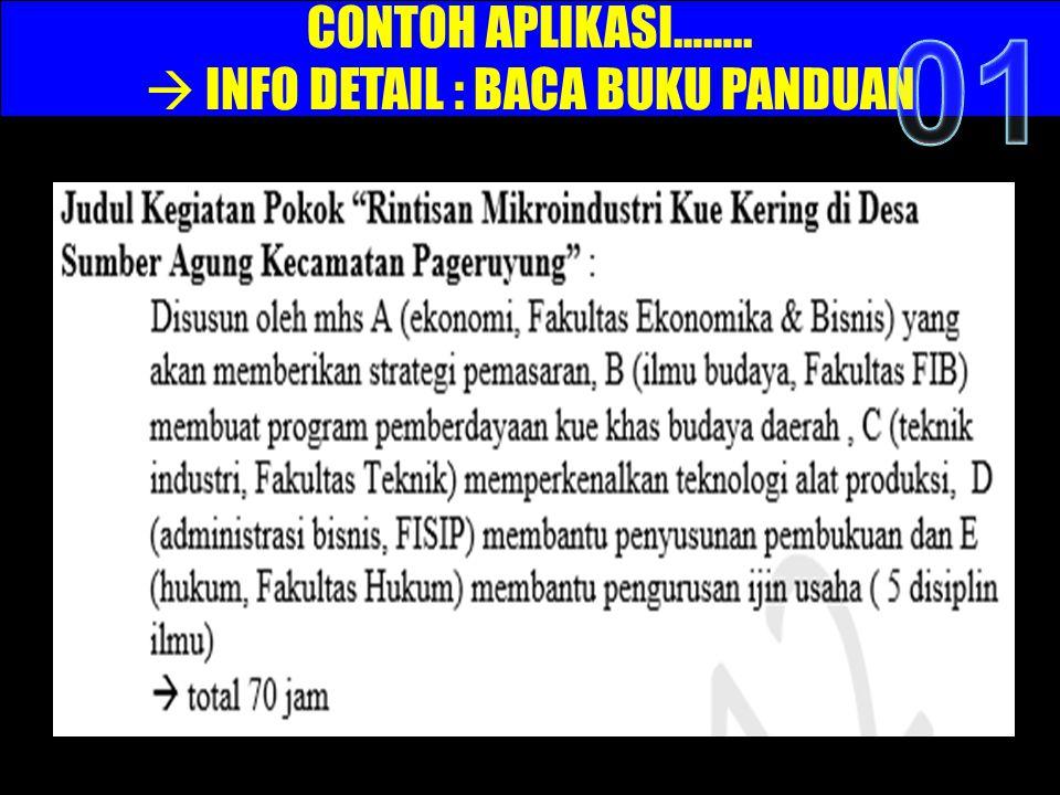  INFO DETAIL : BACA BUKU PANDUAN