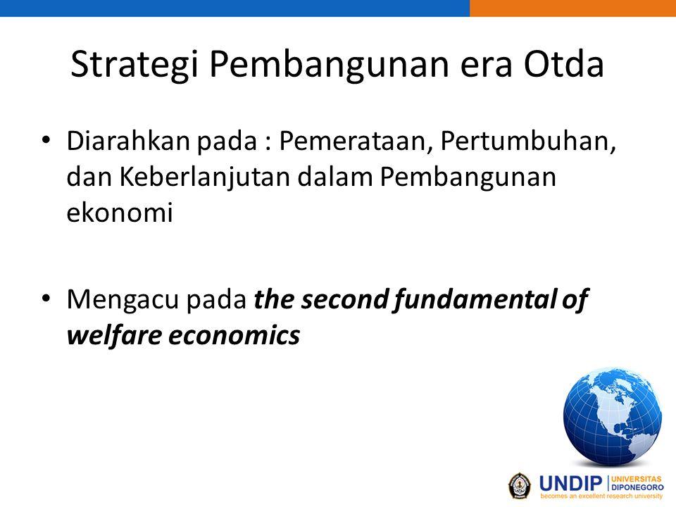 Strategi Pembangunan era Otda