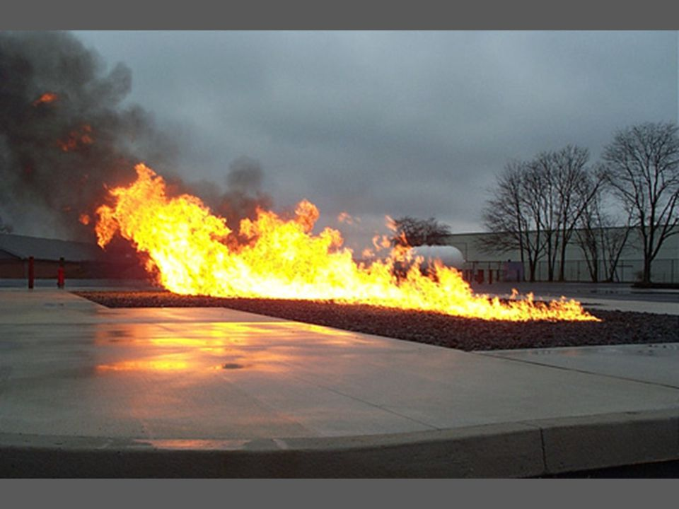 Gambar bahan bakar yang terbakar