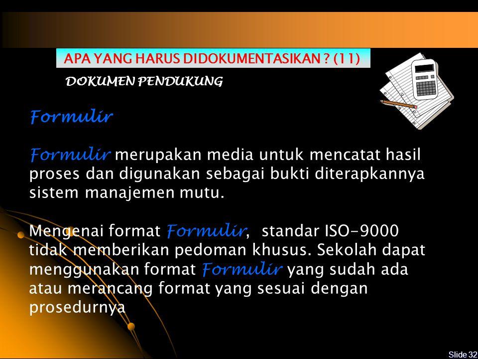 APA YANG HARUS DIDOKUMENTASIKAN (11)