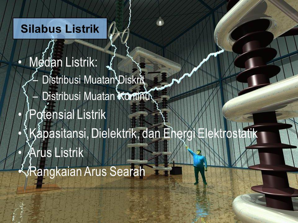 Kapasitansi, Dielektrik, dan Energi Elektrostatik Arus Listrik