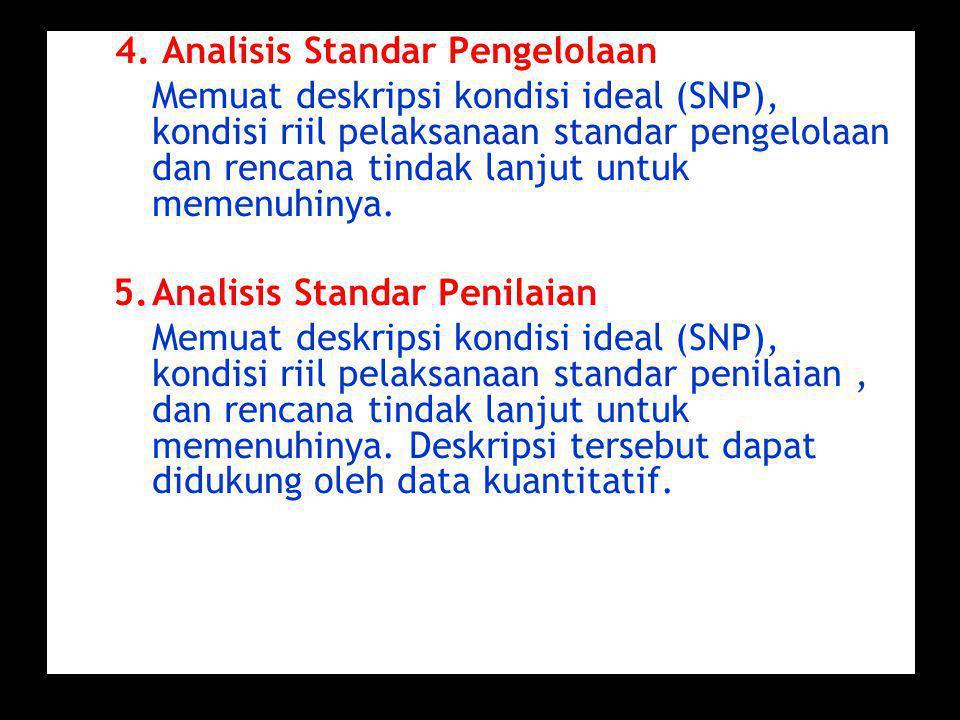 5. Analisis Standar Penilaian