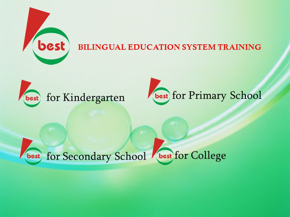 for Primary School for Kindergarten for Secondary School for College
