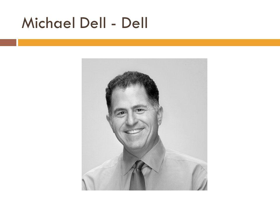 Michael Dell - Dell