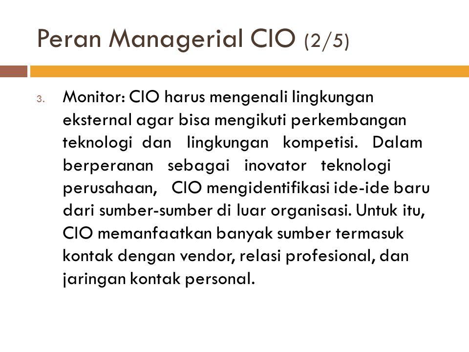 Peran Managerial CIO (2/5)