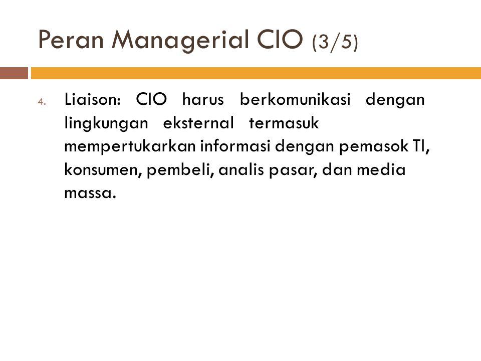 Peran Managerial CIO (3/5)