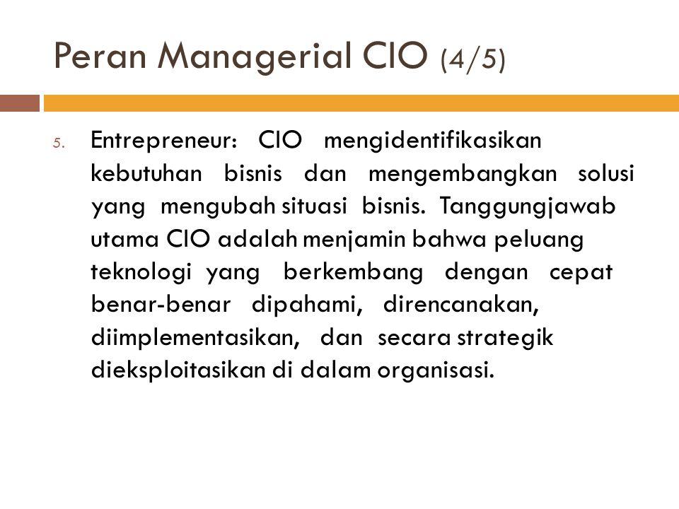 Peran Managerial CIO (4/5)