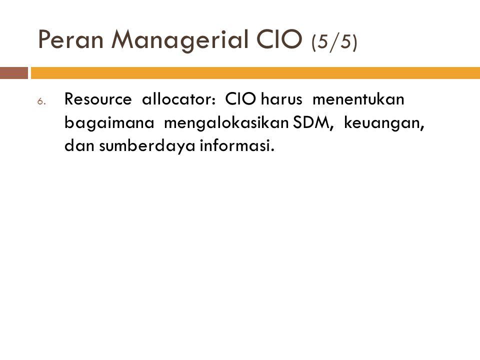 Peran Managerial CIO (5/5)