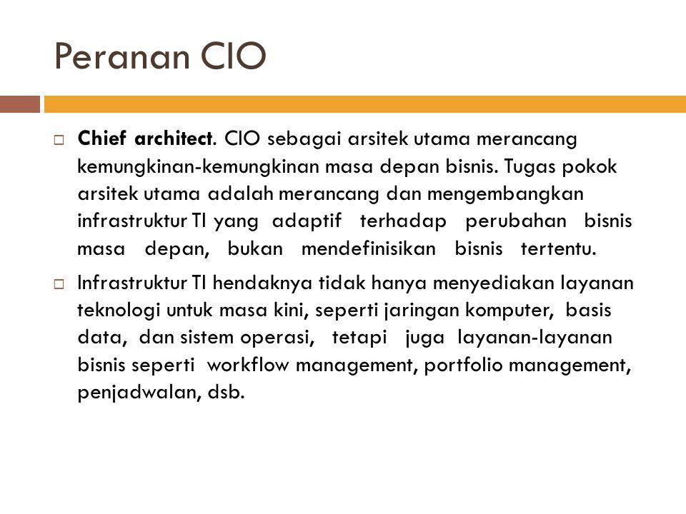 Peranan CIO