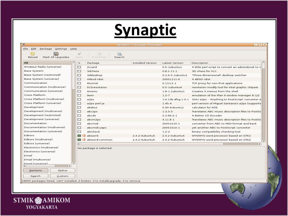 Synaptic 7 7 7 7 7