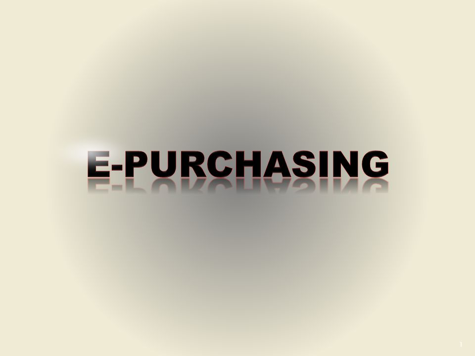 E-PURCHASING (Intermediate) Custom animation effects: spotlight text