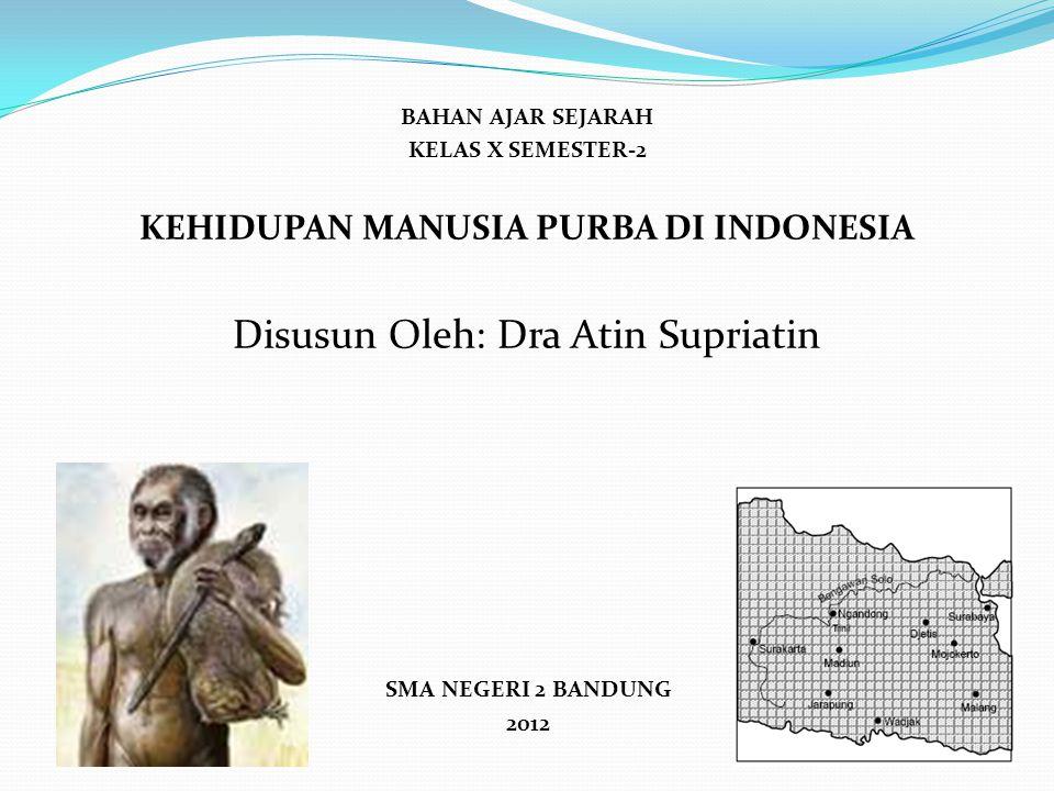 KEHIDUPAN MANUSIA PURBA DI INDONESIA