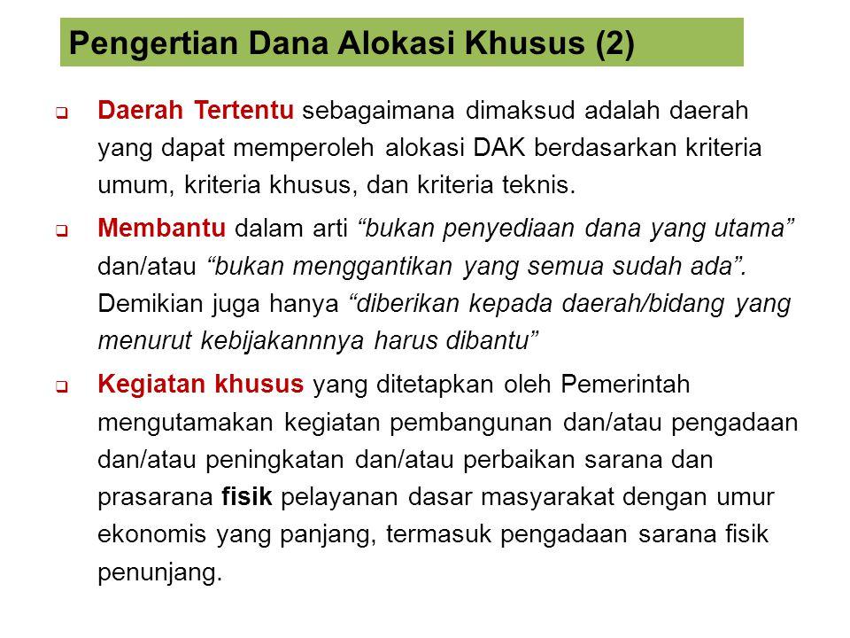 Pengertian Dana Alokasi Khusus (2)