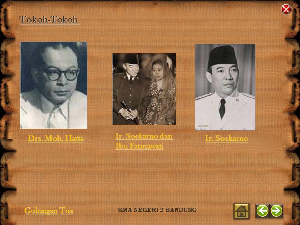 Tokoh-Tokoh Ir. Soekarno dan Ibu Fatmawati Drs. Moh. Hatta