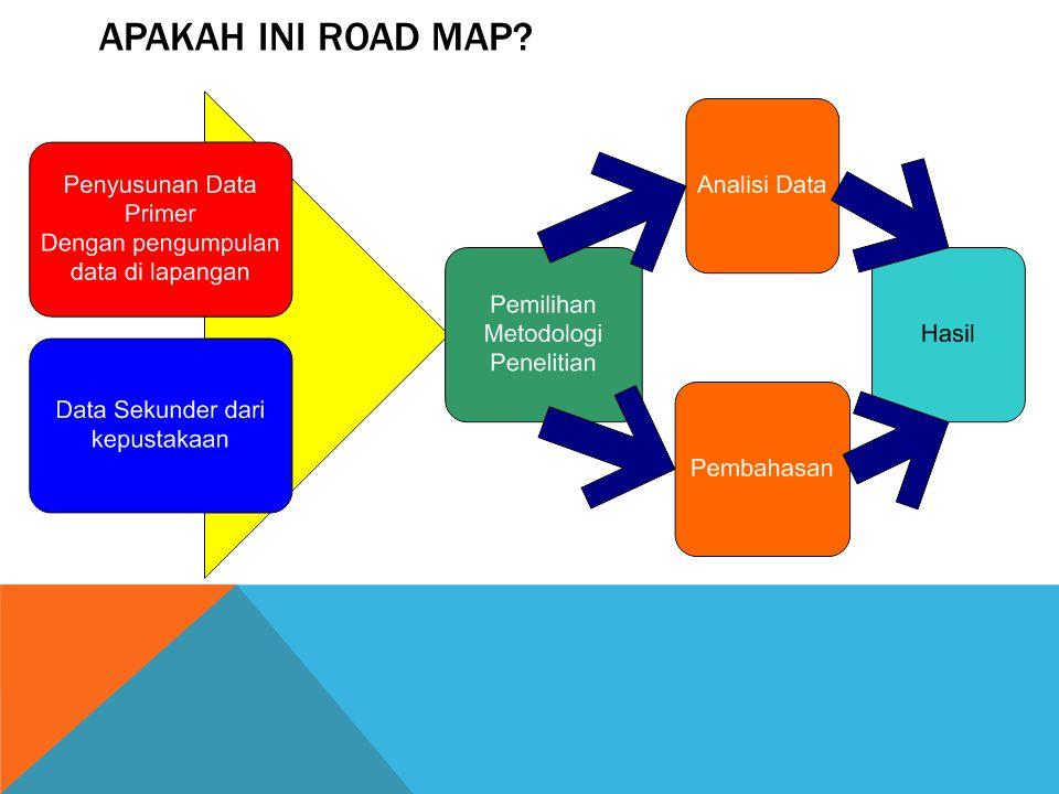 Apakah Ini Road Map