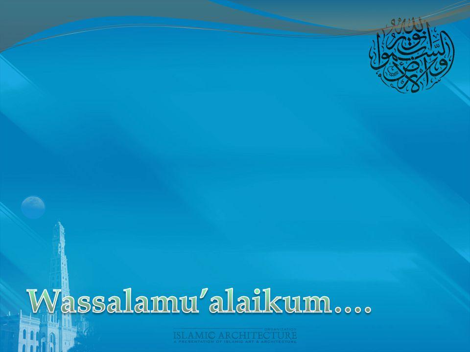 Wassalamu'alaikum….