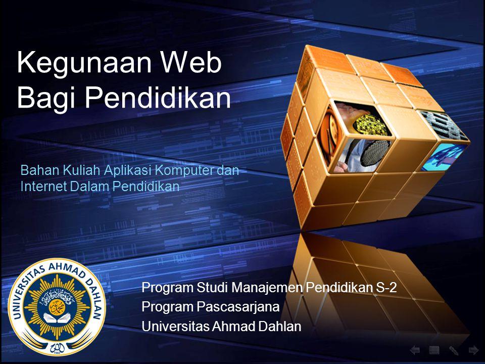 Kegunaan Web Bagi Pendidikan