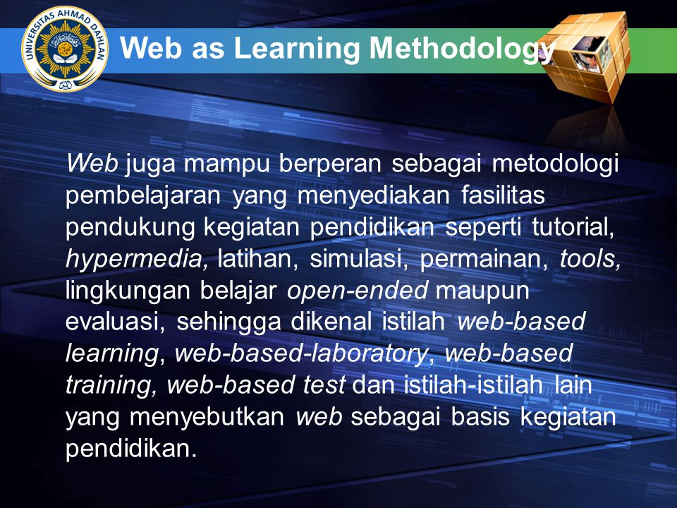 Web as Learning Methodology