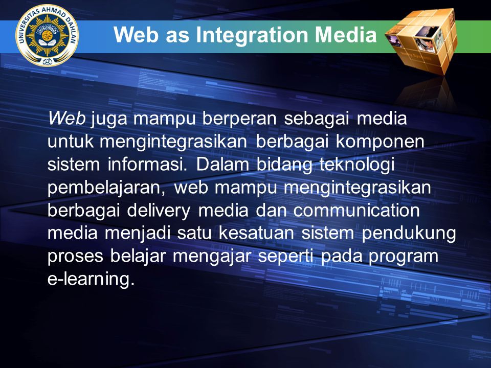 Web as Integration Media