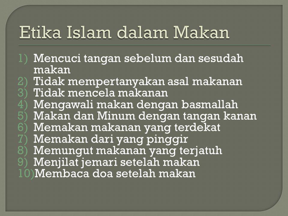 Etika Islam dalam Makan