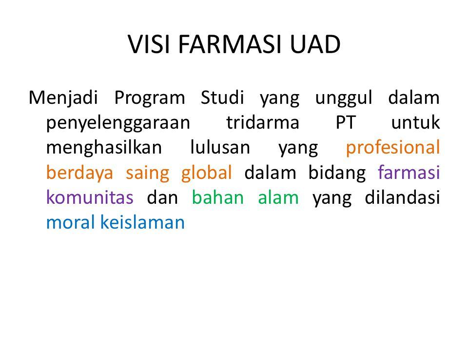 VISI FARMASI UAD