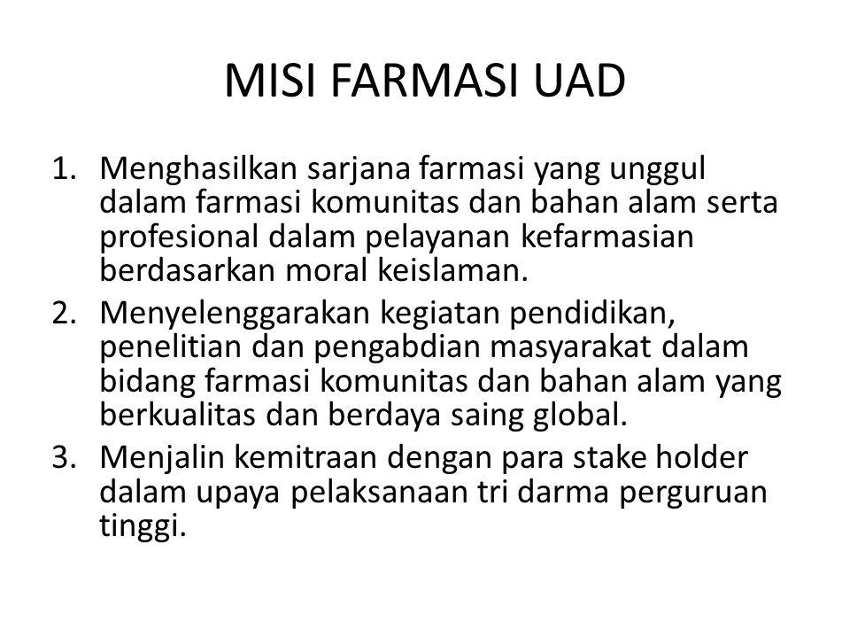MISI FARMASI UAD