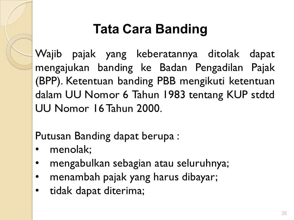 Tata Cara Banding