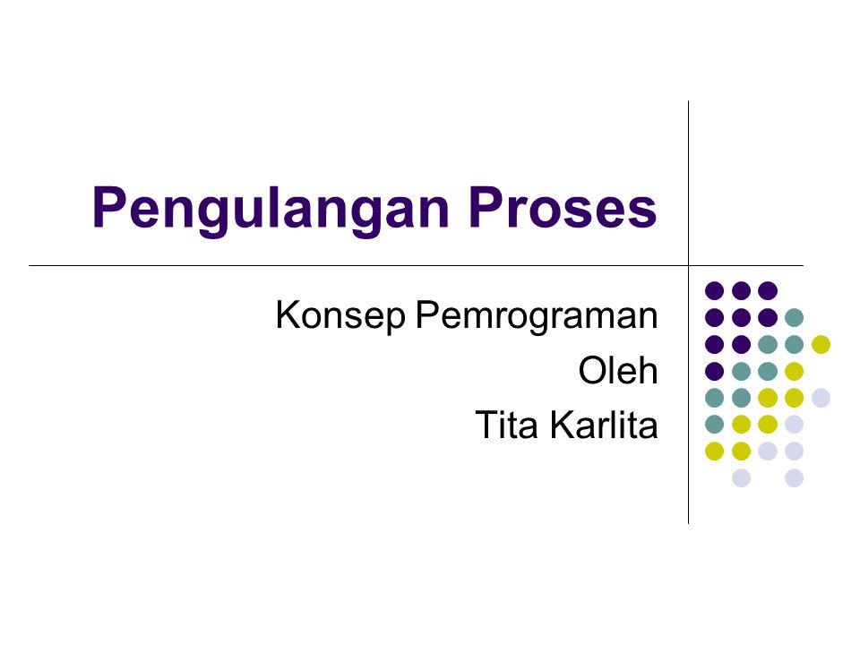 Konsep Pemrograman Oleh Tita Karlita