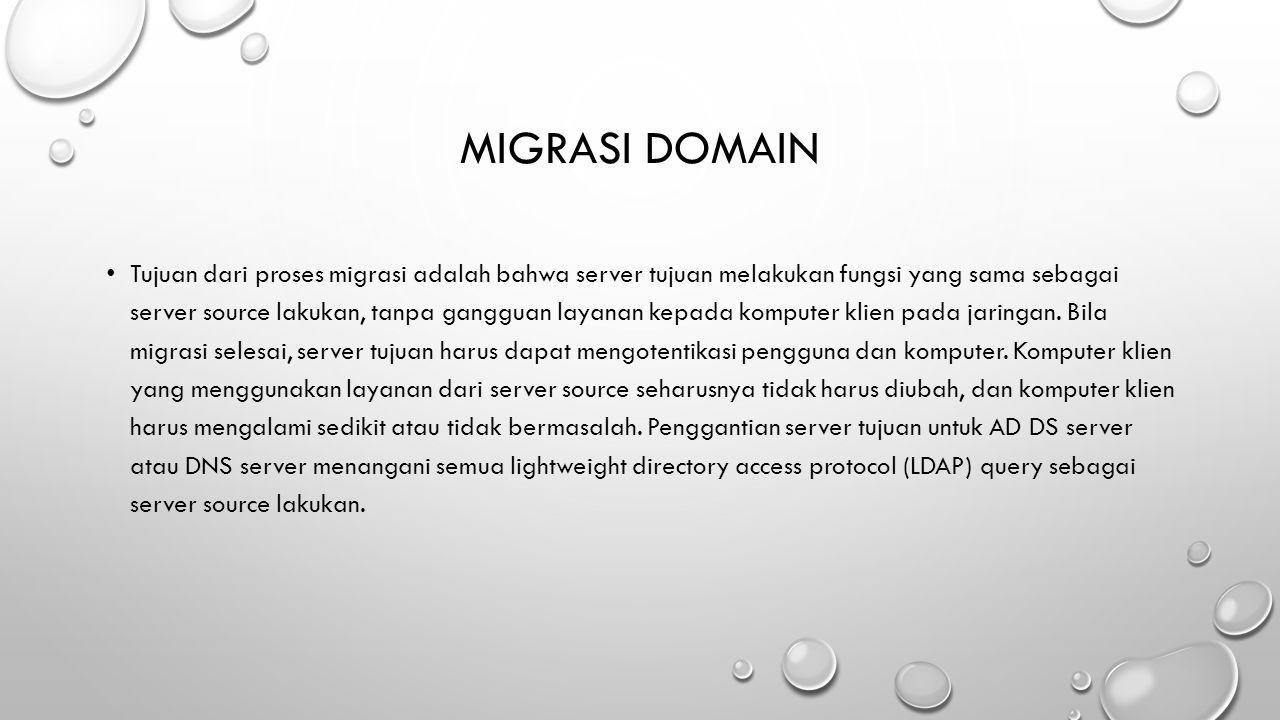 Migrasi domain