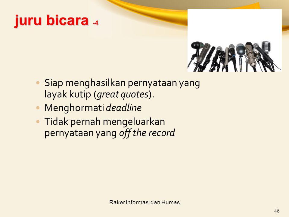 Raker Informasi dan Humas