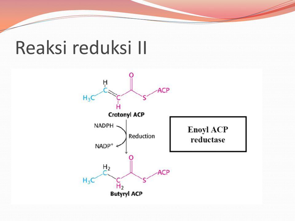 Reaksi reduksi II