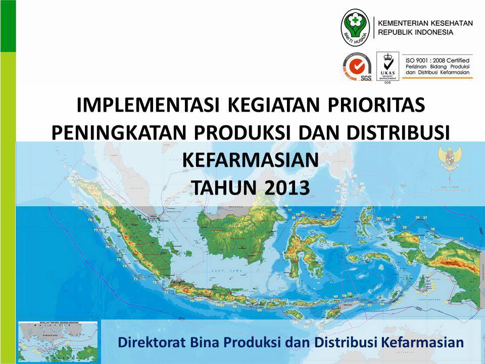 Direktorat Bina Produksi dan Distribusi Kefarmasian