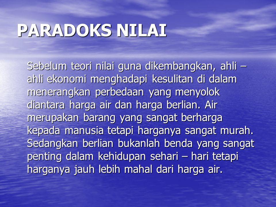PARADOKS NILAI