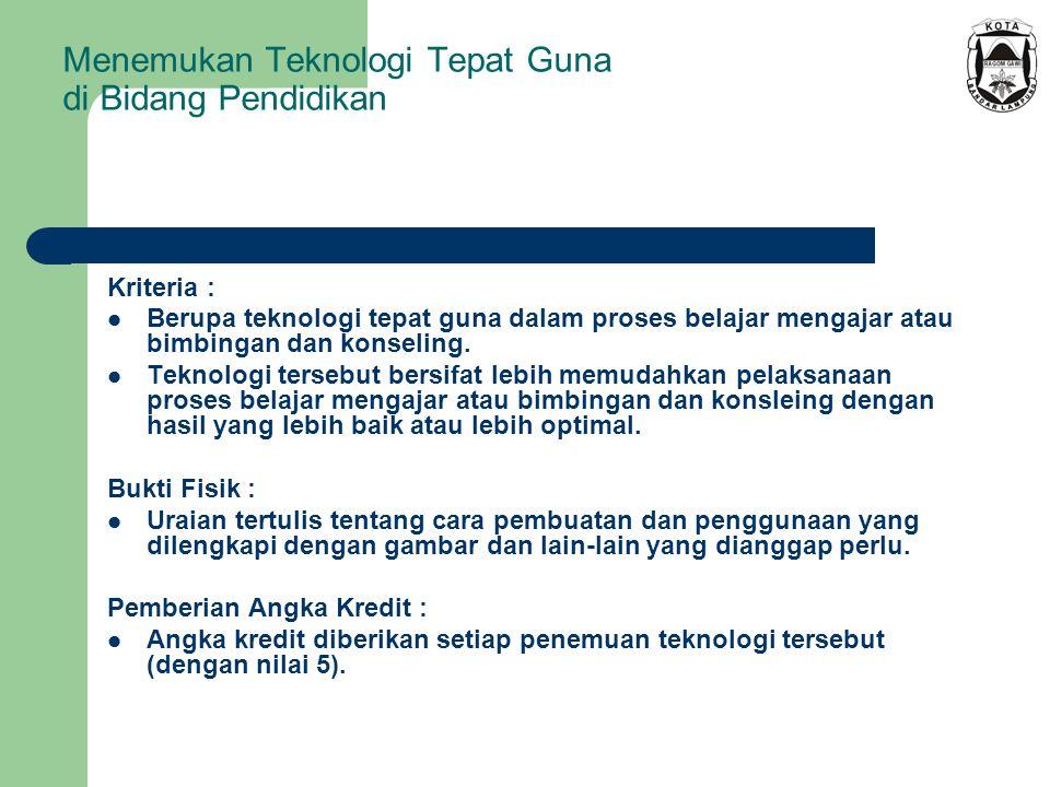 Menemukan Teknologi Tepat Guna di Bidang Pendidikan