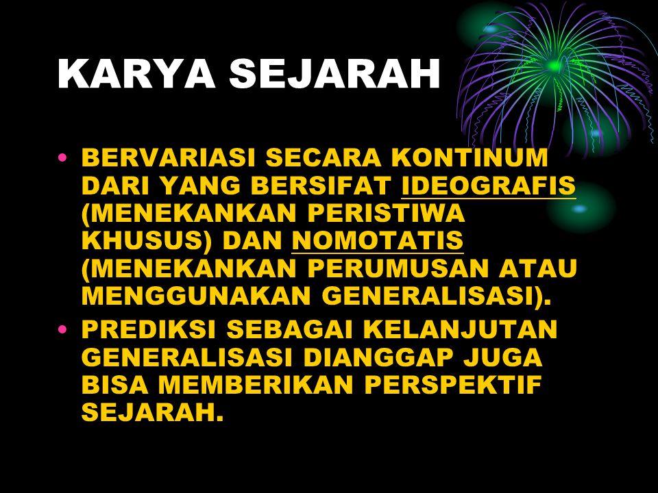 KARYA SEJARAH