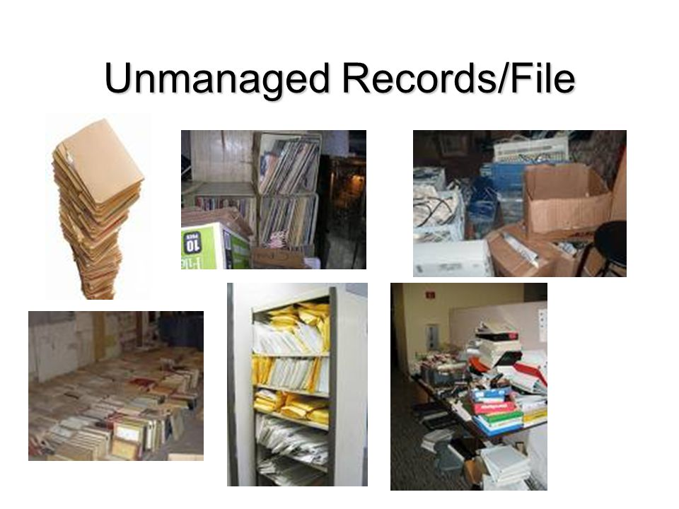 Unmanaged Records/File