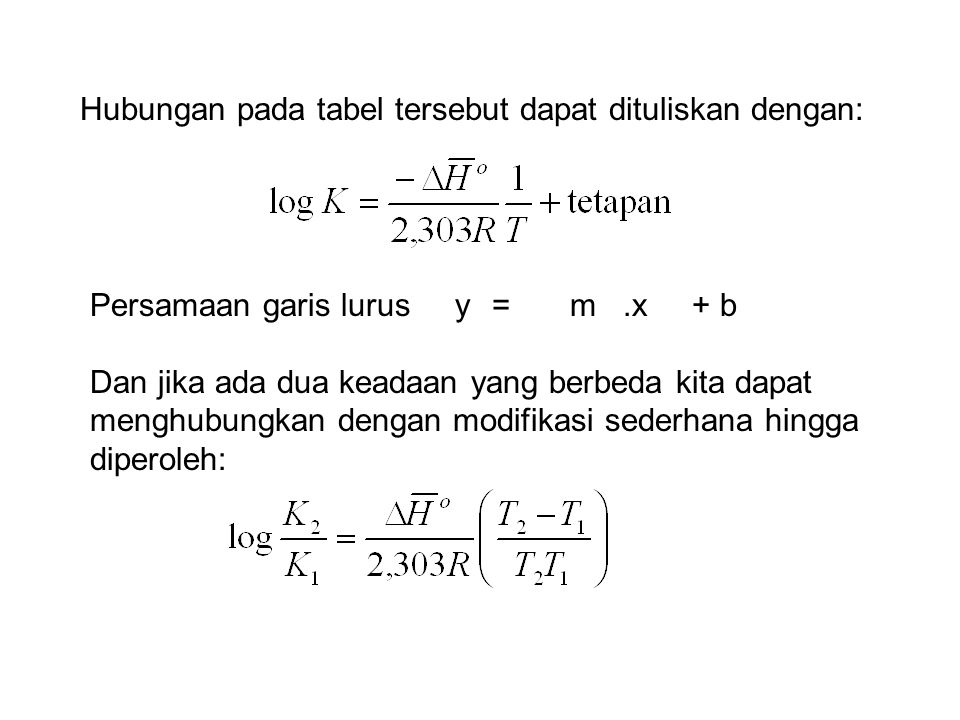 Hubungan pada tabel tersebut dapat dituliskan dengan: