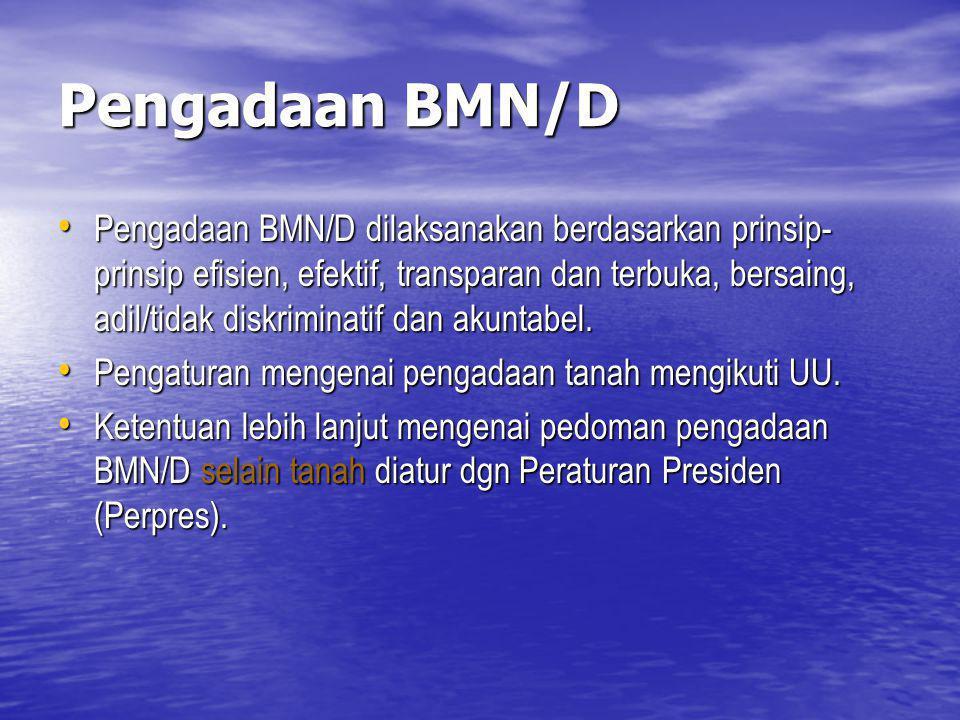Pengadaan BMN/D
