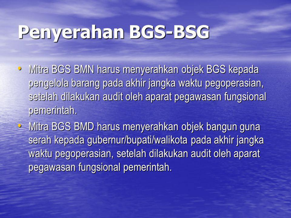 Penyerahan BGS-BSG