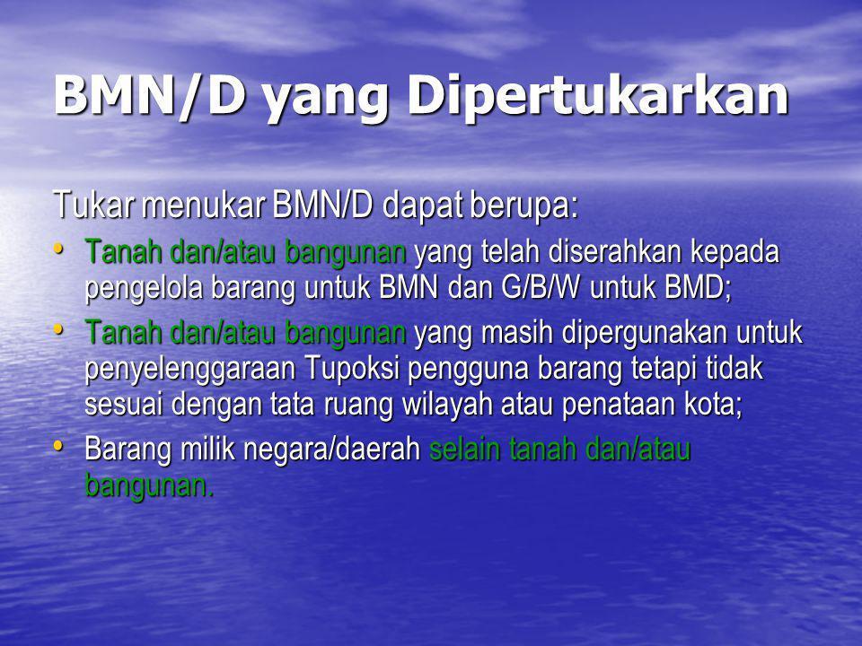 BMN/D yang Dipertukarkan