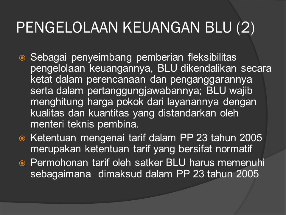 PENGELOLAAN KEUANGAN BLU (2)