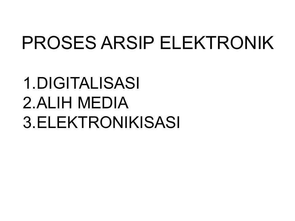 PROSES ARSIP ELEKTRONIK