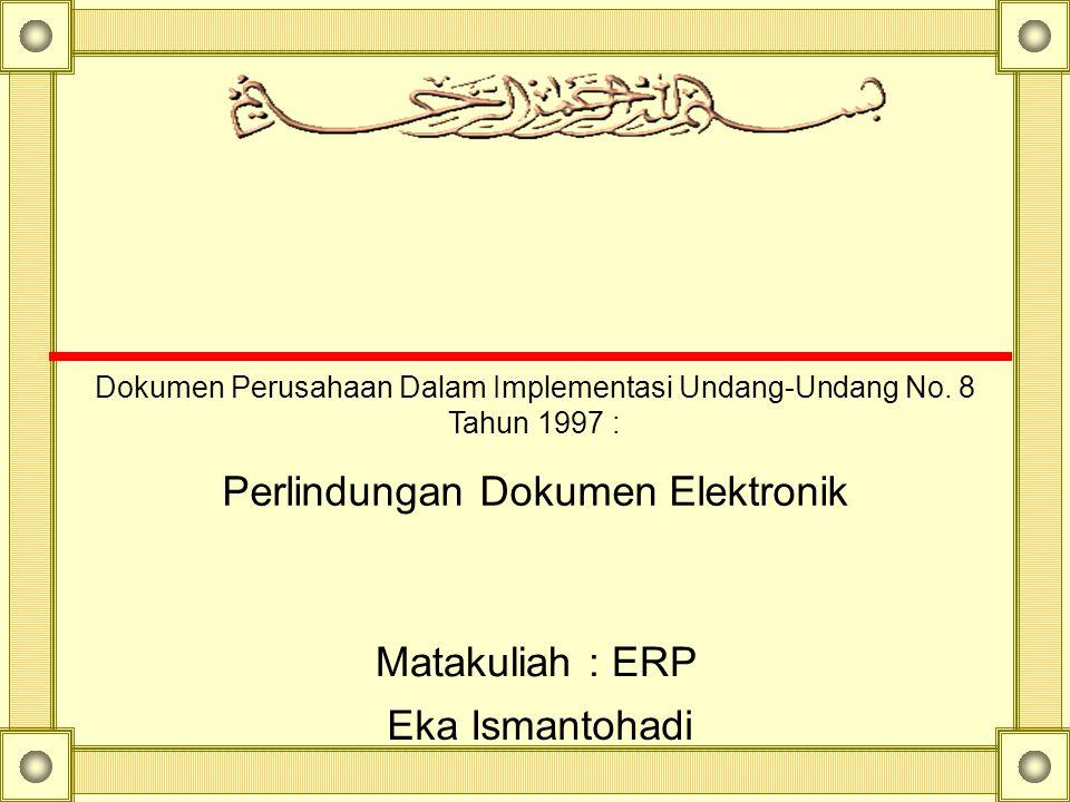 Perlindungan Dokumen Elektronik