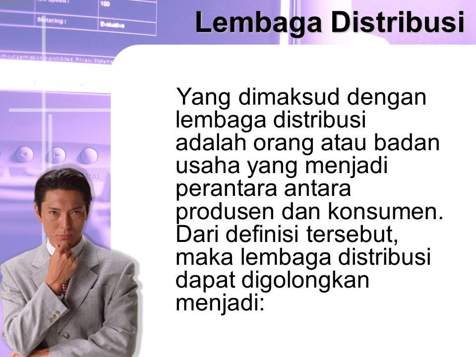 Lembaga Distribusi
