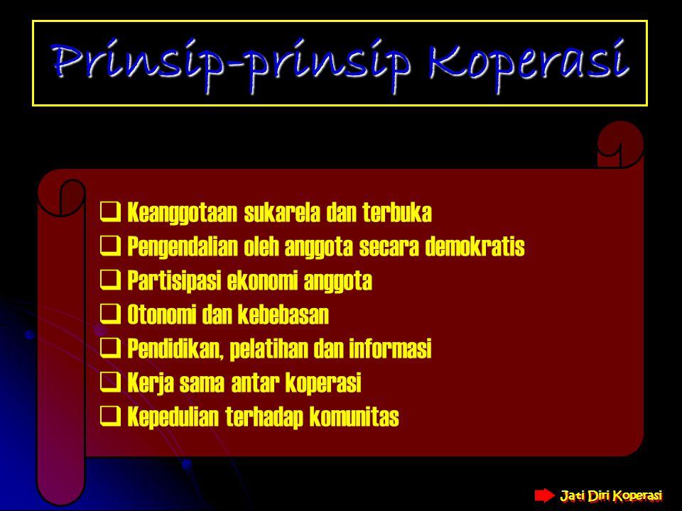 Prinsip-prinsip Koperasi