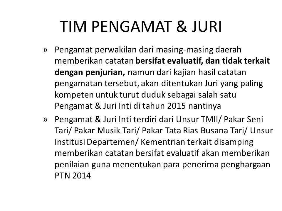 TIM PENGAMAT & JURI