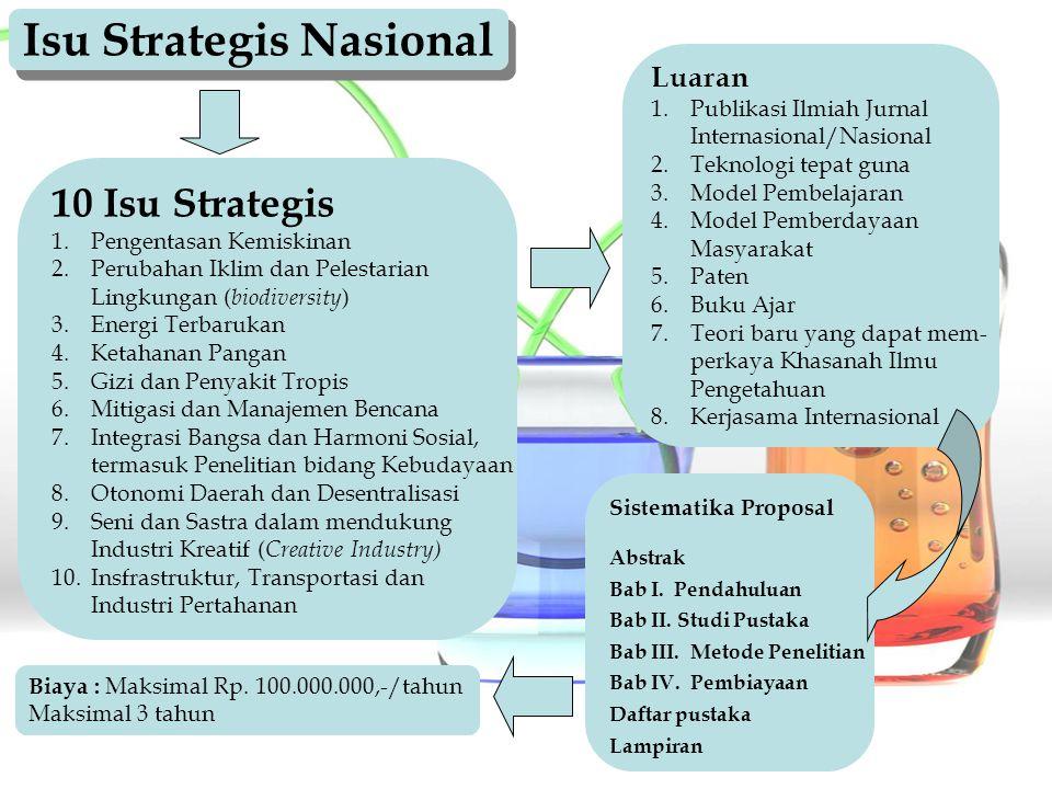 Isu Strategis Nasional